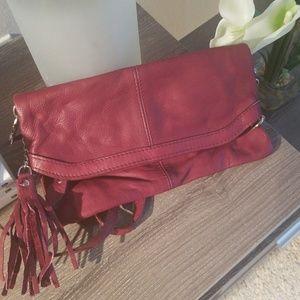 Handbags - Beautiful Italian Leather Clutch